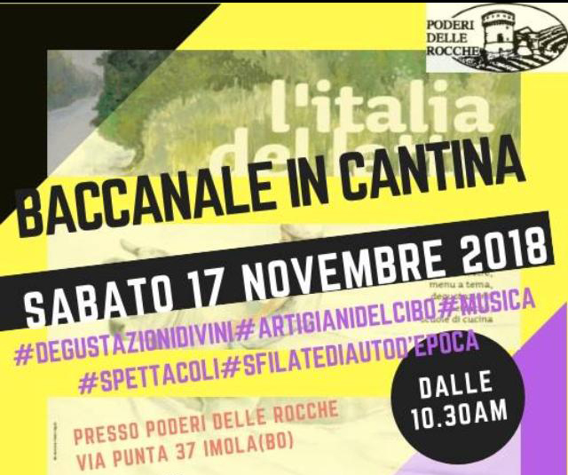 Baccanale in cantina
